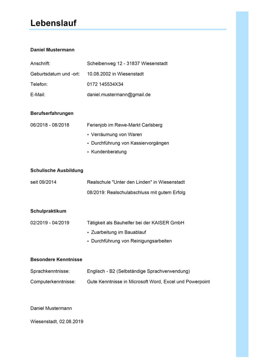 Bewerbung Industriekaufmann 2021 Inkl Muster Jobs Regional 8