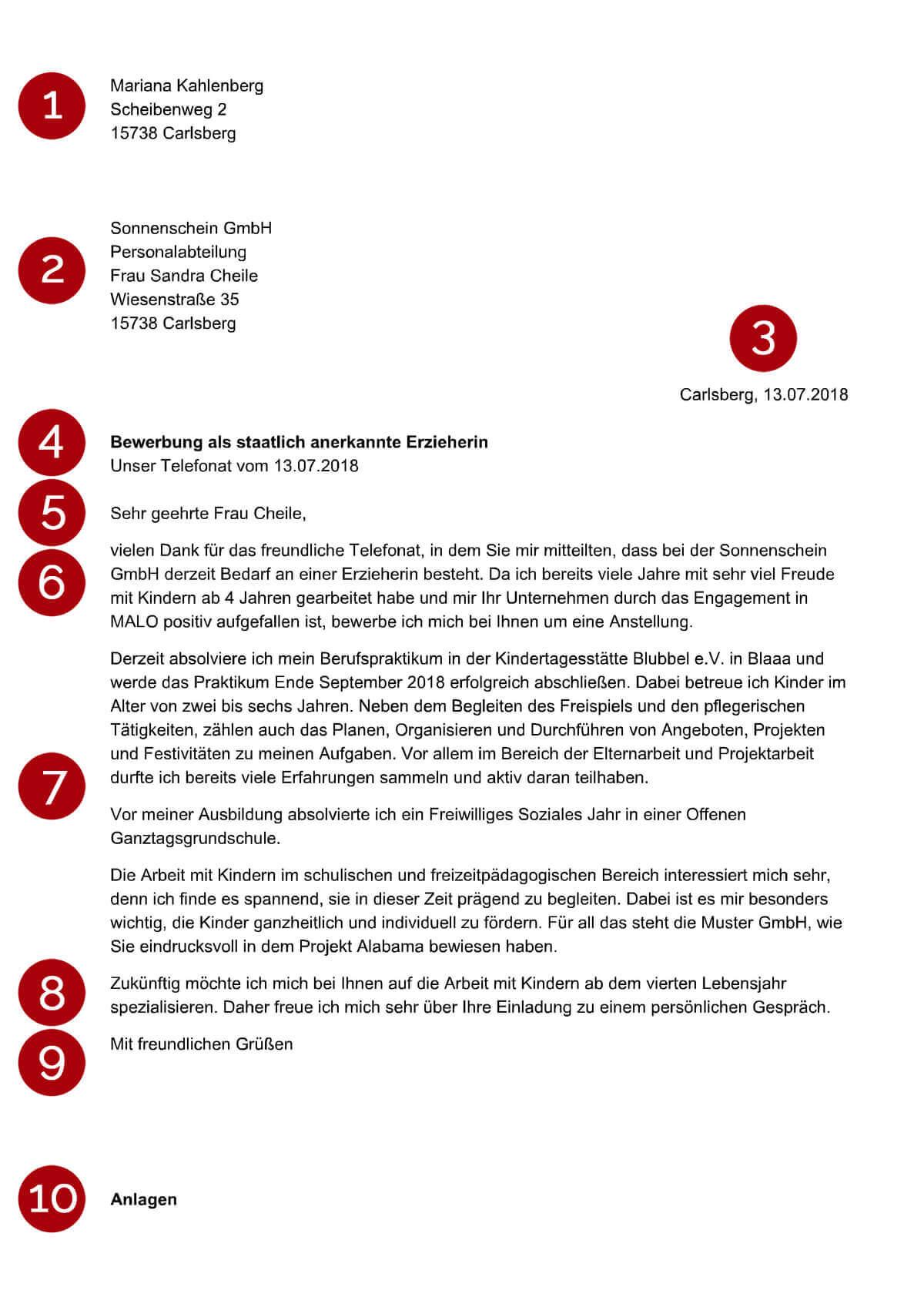 initiativbewerbung - Bewerbung Kaufmannische Angestellte