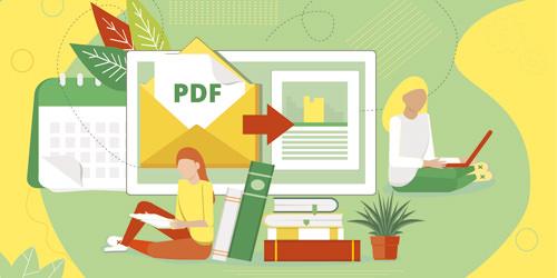 Bewerbung als PDF für die Onlinebewerbung