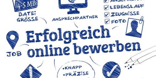 Online-Bewerbung: Möglichkeiten, Inhalte, Beispiele
