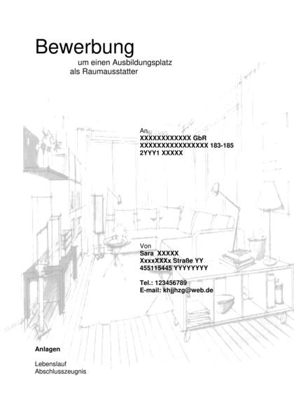 Vorschau Deckblatt Raumausstatter