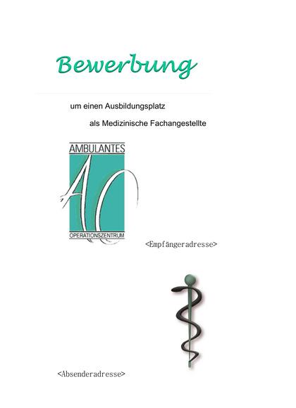 Vorschau Deckblatt Medizinische Fachangestellte