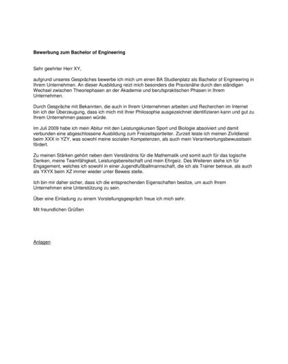 Vorschau Ausbildung Bachelor of Engineering