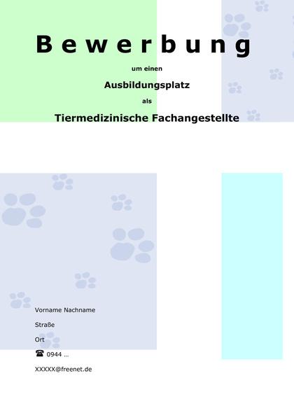 Vorschau Deckblatt Tiermedizinische Fachangestellte