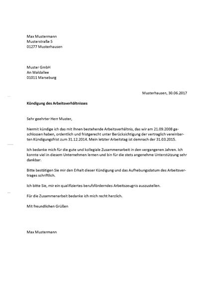 Vorschau Allgemeine Vorlagen Arbeitszeugnis in Kündigung anfordern